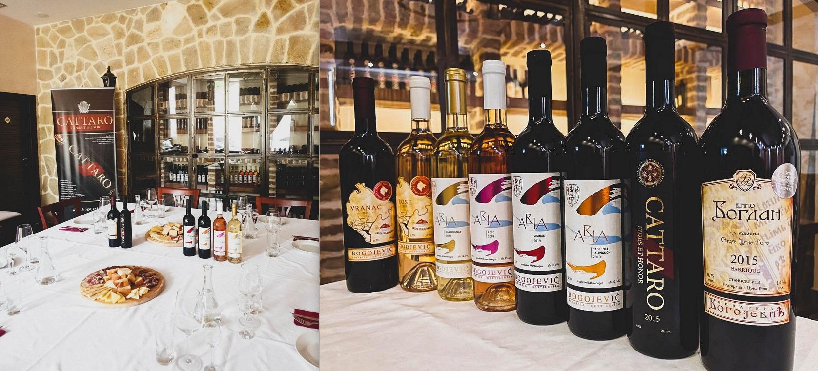 Дегустация вина Черногория