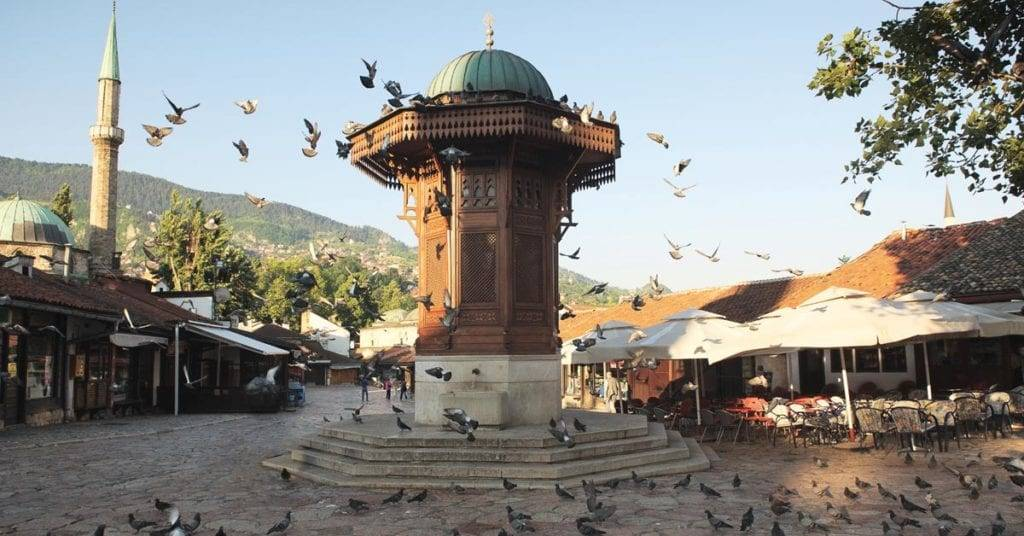 Себиж. Экскурсия в Сараево из Черногории