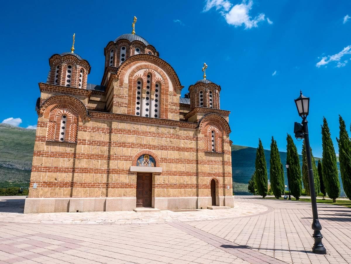 Храм Грачаница Требинье