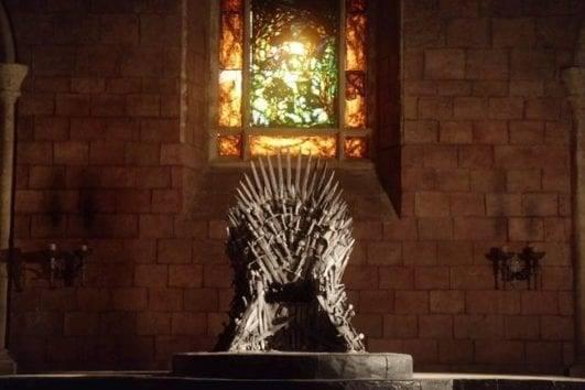 Дубровник трон Игры Престолов