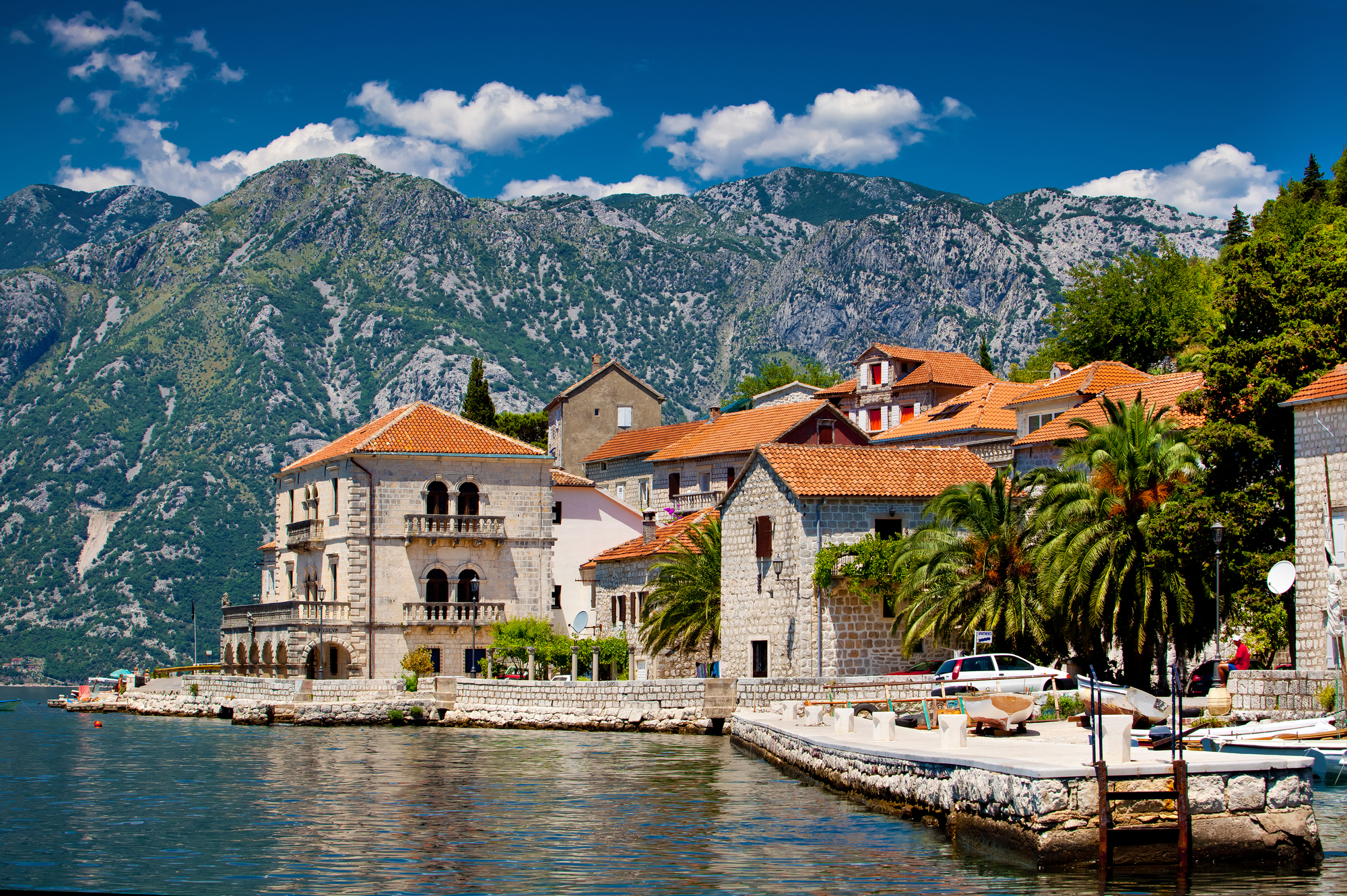 морские прогулки на яхте черногория