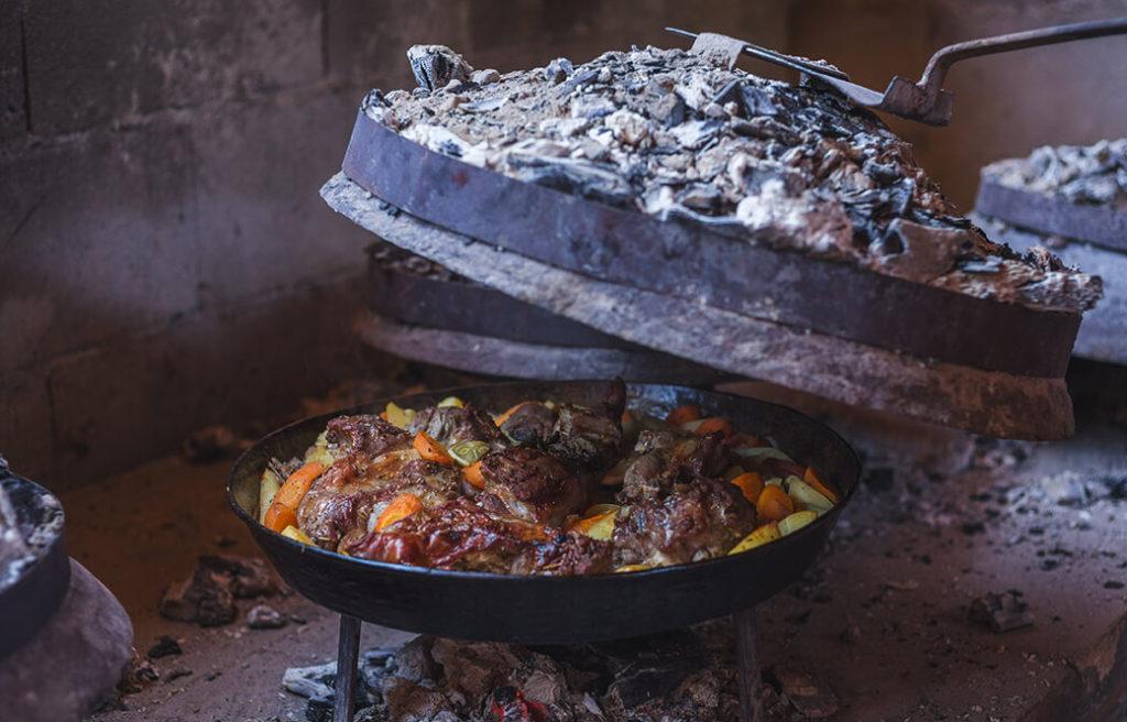 Обед на рафтинге Тара Дрина
