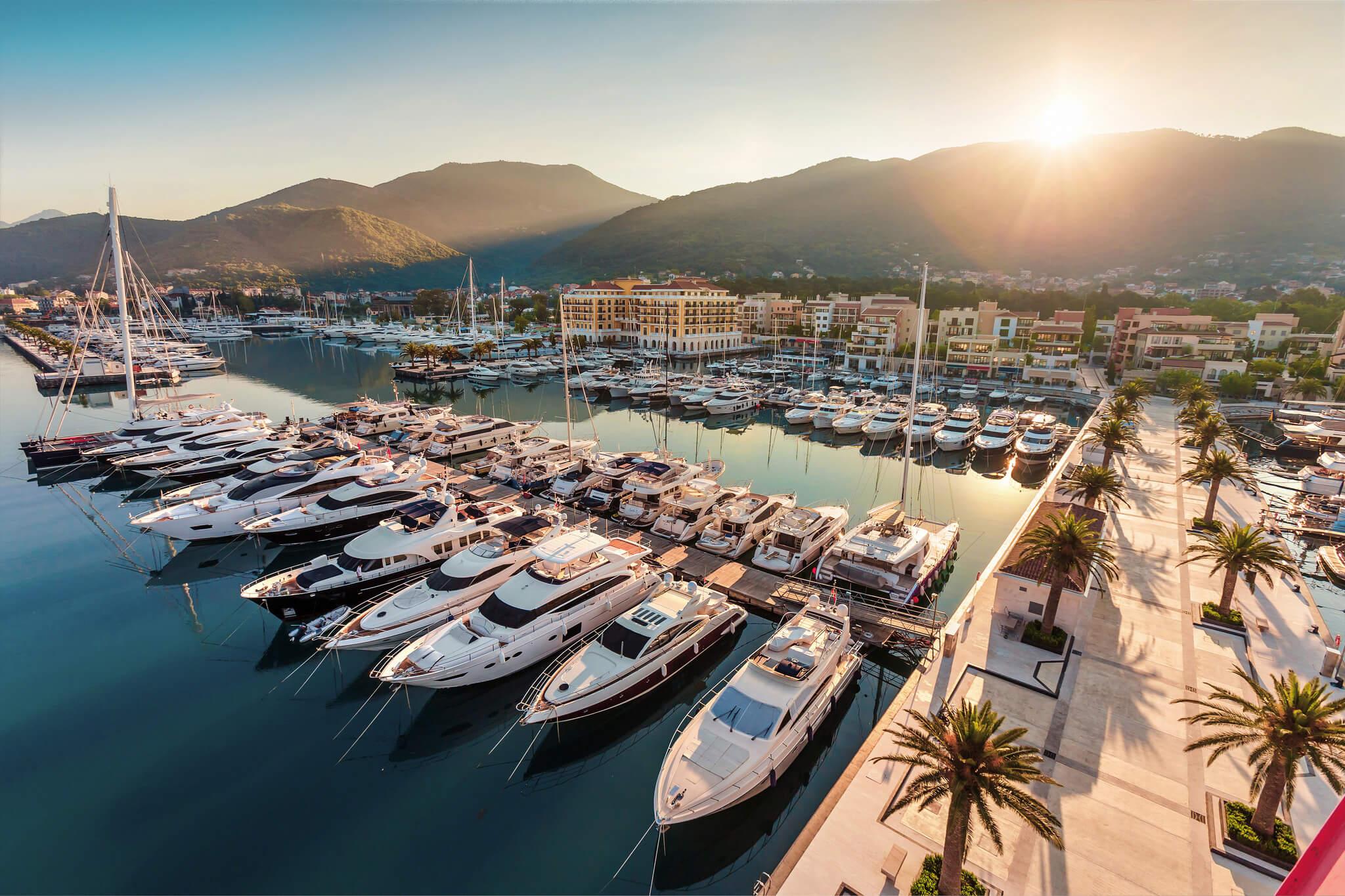 прогулки на катерах черногория