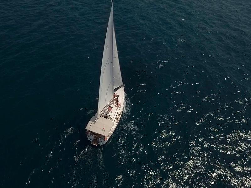 Аренда парусной яхты в Черногории