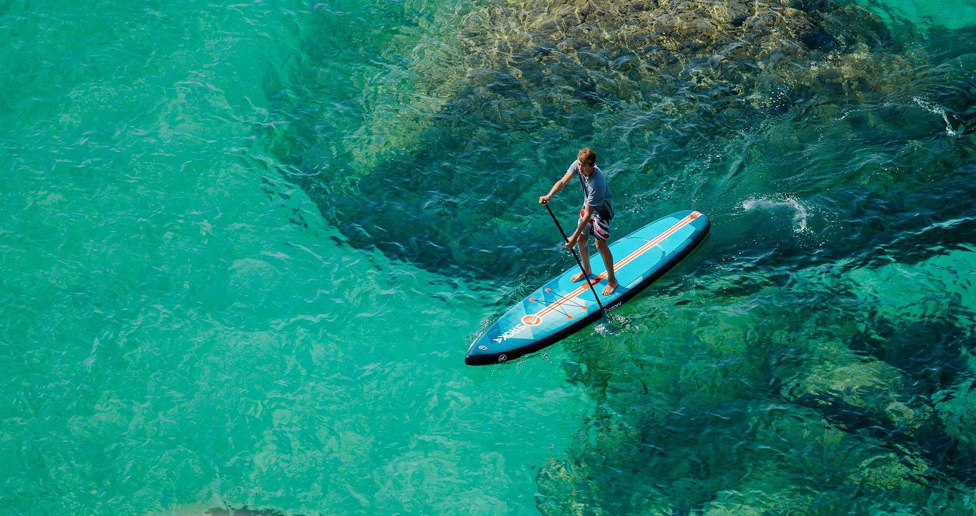 SUP серфинг в Черногории