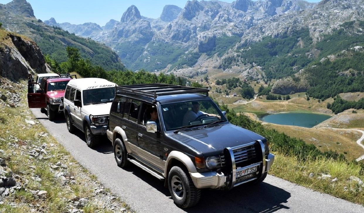 Джип-сафари в черногории