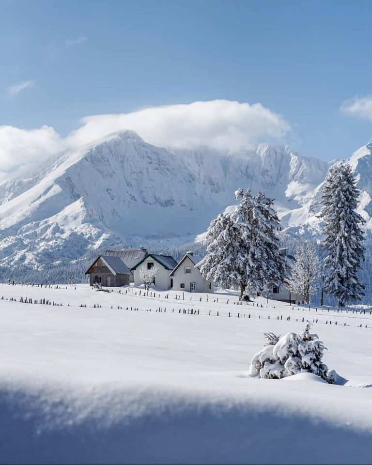 черногория зимой