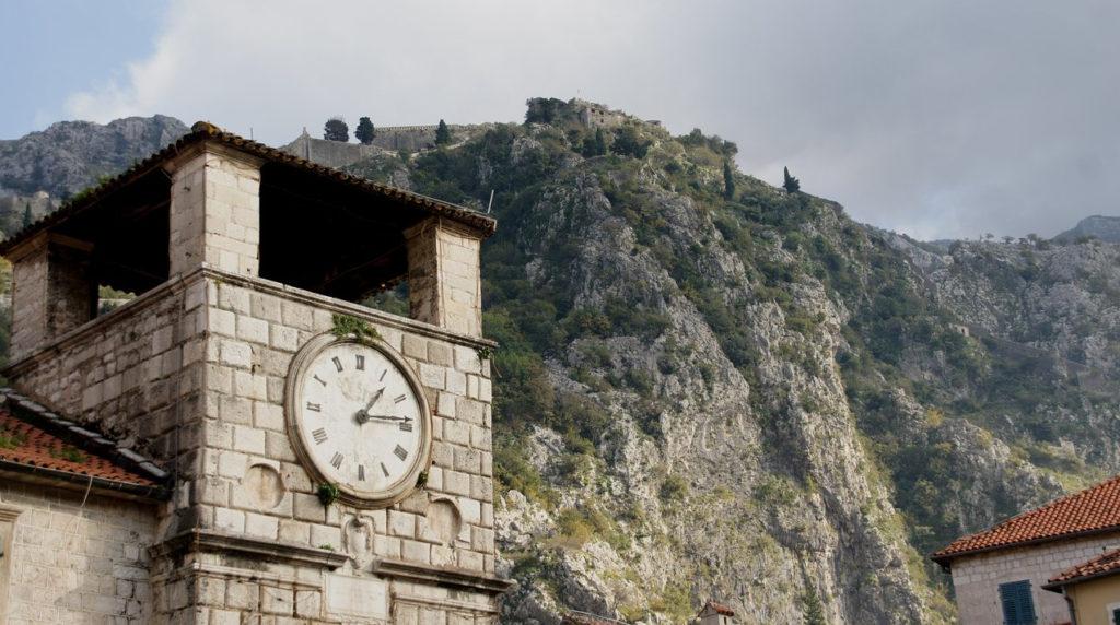Часовая башня Котор