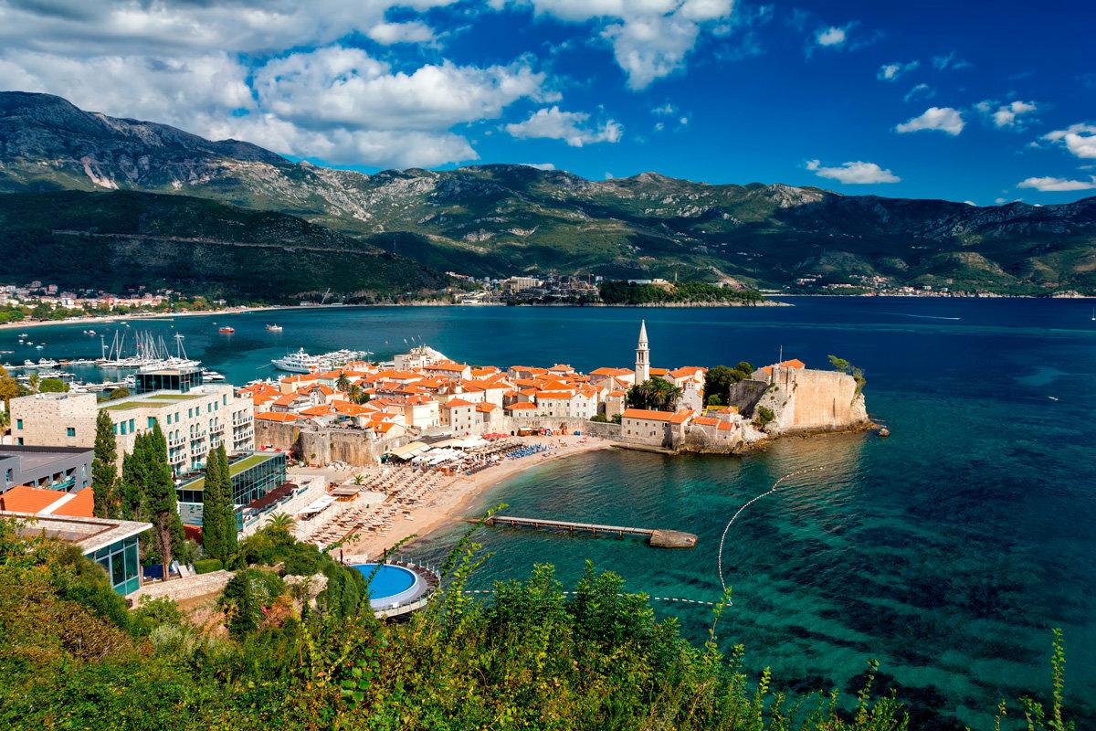 Виды Черногории Виста