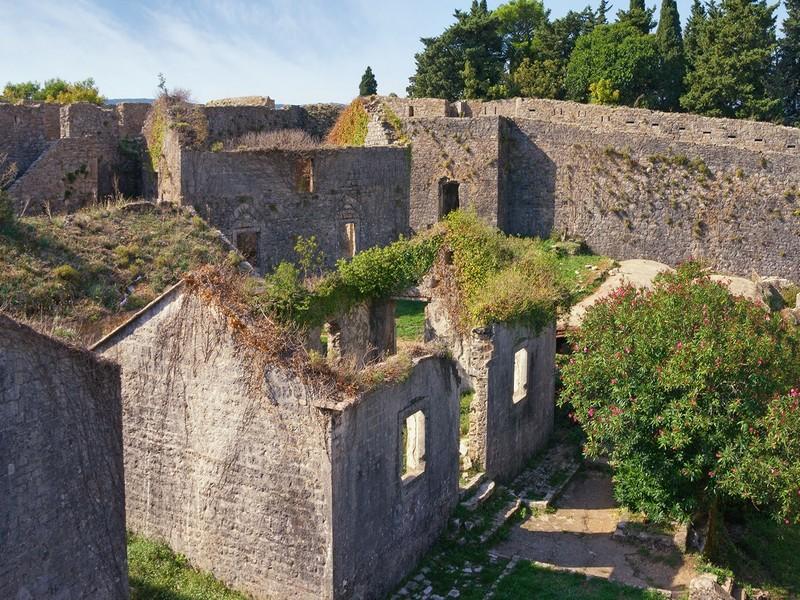Герцег Нови достопримечательности Крепость Шпаньола