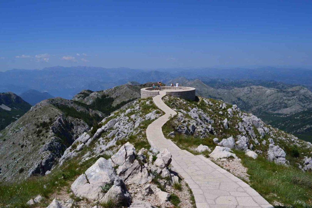 Виды Черногории Ловчен