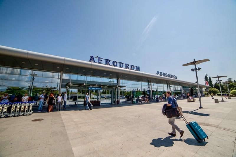 Подгорица аэропорт Черногория