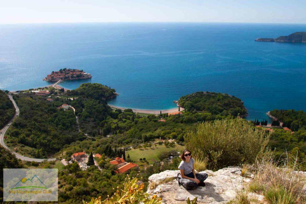 Виды Черногории Святой Стефан