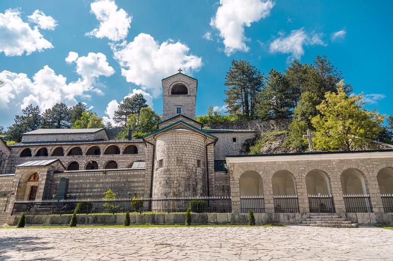 Цетинский монастырь Цетинье