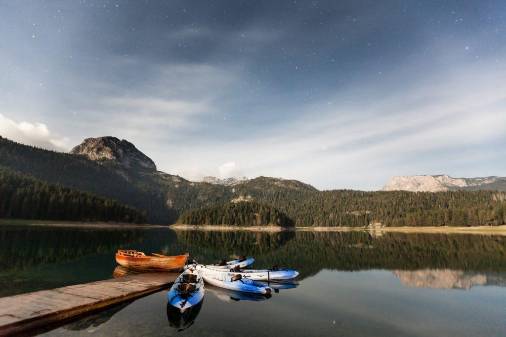 Черное озеро Черногория 2021