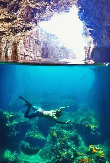 Черногория экскурсии Голубая пещера